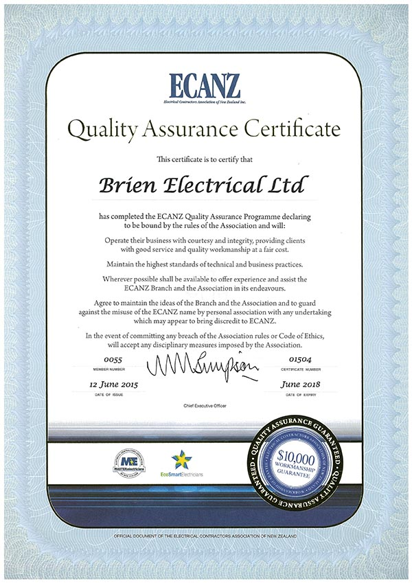 qa certificate june logged must comment